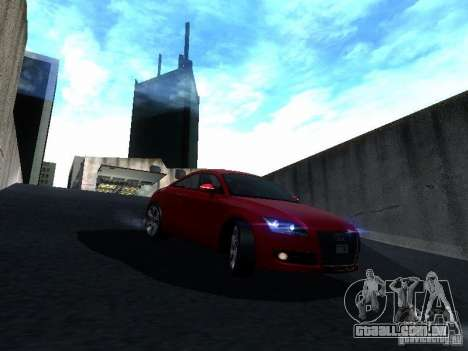 Audi TT 2009 v2.0 para vista lateral GTA San Andreas
