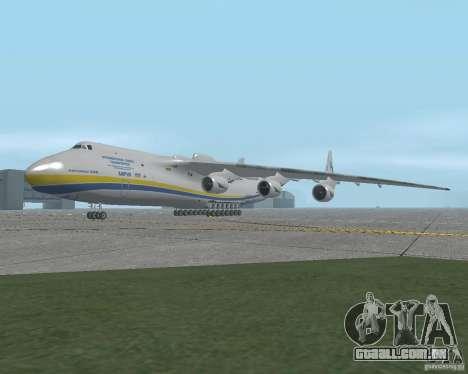 O an-225 Mriya para GTA San Andreas