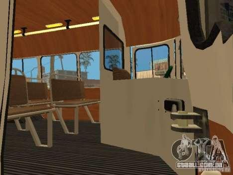685 Kavz para GTA San Andreas traseira esquerda vista