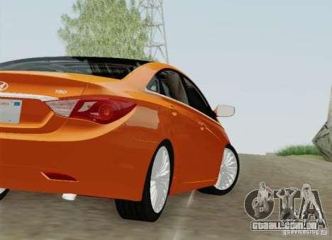 Hyundai Sonata 2012 para as rodas de GTA San Andreas