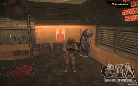 Recarregar armas para GTA San Andreas segunda tela