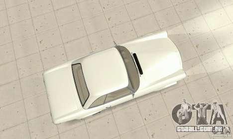 Mercedes-Benz 280SL (brilhante) para GTA San Andreas vista direita