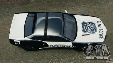 NFSOL State Police Car para GTA 4 vista direita