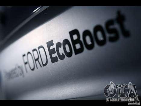 Telas de carregamento Ford para GTA San Andreas terceira tela