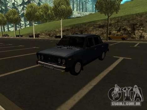 VAZ 21065 para GTA San Andreas vista interior