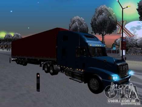 Freightliner Century para GTA San Andreas vista direita