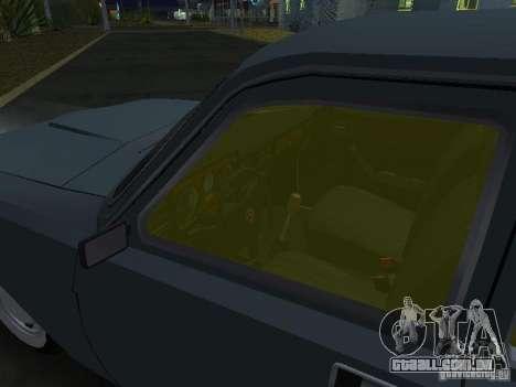 GAZ M24-02 para GTA San Andreas vista traseira