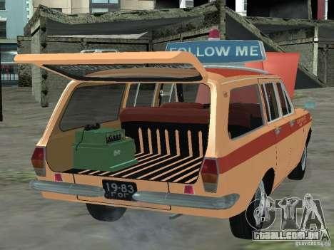 GAZ-24 Volga AEROFLOT 02 para GTA San Andreas vista direita