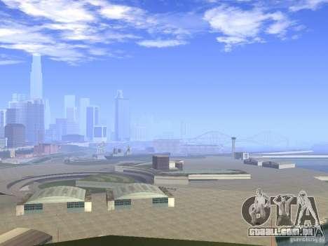 BM Timecyc v1.1 Real Sky para GTA San Andreas segunda tela