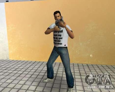 MP5K para GTA Vice City por diante tela