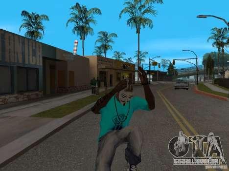 Máscara de Guy Fawkes para GTA San Andreas terceira tela