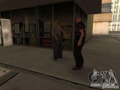 Espaço animado v 1.0 para GTA San Andreas segunda tela