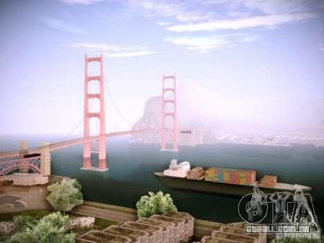 New ENBSeries para GTA San Andreas quinto tela