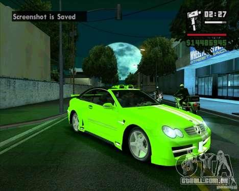 Mercedes-Benz CLK500 para GTA San Andreas
