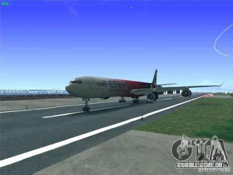 Airbus A340-600 Etihad Airways F1 Livrey para GTA San Andreas