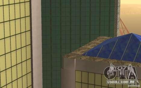 Arranha-céus em San Fierro para GTA San Andreas quinto tela
