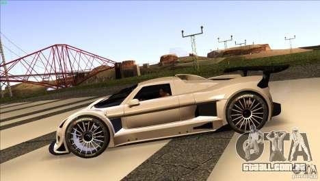 Gumpert Apollo para GTA San Andreas vista direita