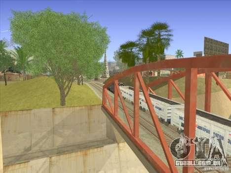 Gôndola carro 12-196-01 para GTA San Andreas vista direita