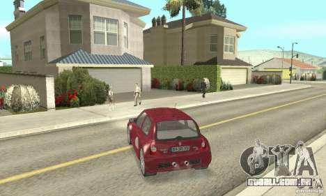 Renault Clio Phase 2 para GTA San Andreas esquerda vista