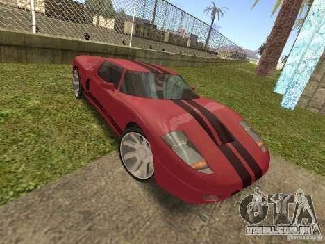 Bullet HQ para GTA San Andreas vista traseira