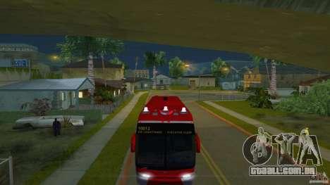 Rural Tours 10012 para GTA San Andreas traseira esquerda vista