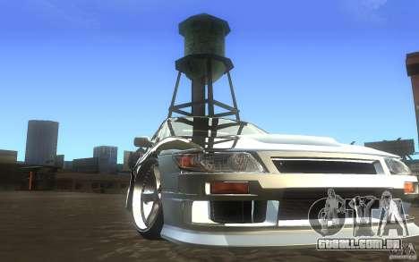 Nissan Silvia S13 Odyvia para GTA San Andreas vista traseira