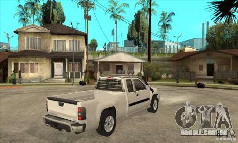 GMC Sierra para GTA San Andreas vista direita