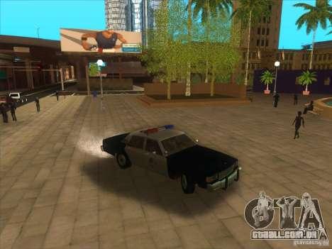Chevrolet Caprice Interceptor LAPD 1986 para GTA San Andreas