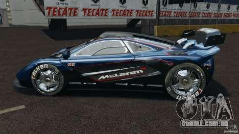 McLaren F1 ELITE para GTA 4 esquerda vista