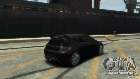 Volkswagen Scirocco GT-24 para GTA 4 vista direita