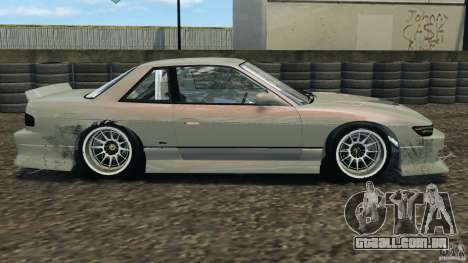 Nissan Silvia S13 DriftKorch [RIV] para GTA 4 esquerda vista