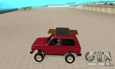 VAZ 2121 Niva para GTA San Andreas esquerda vista