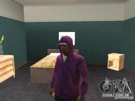 Hood para GTA San Andreas quinto tela