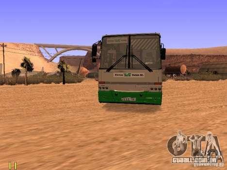Ikarus C63 para GTA San Andreas vista direita