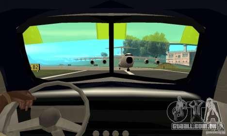 Chevy Towtruck COE 1946 para GTA San Andreas vista traseira