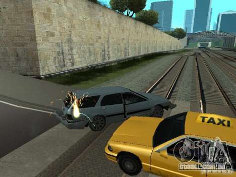 As máquinas de explosão realista para GTA San Andreas