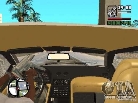 Lamborghini Diablo VT 1995 V2.0 para GTA San Andreas vista inferior