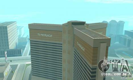 Welcome to Las Vegas para GTA San Andreas terceira tela