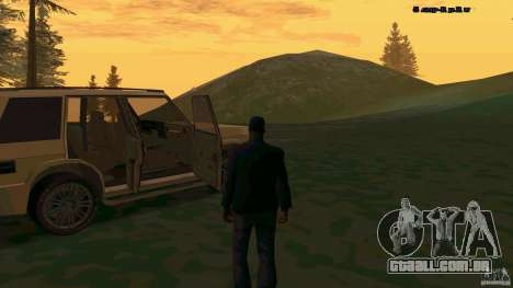 HD Huntley para GTA San Andreas vista direita