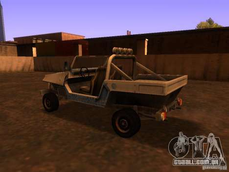 Carrinha pickup de T3 para GTA San Andreas vista direita