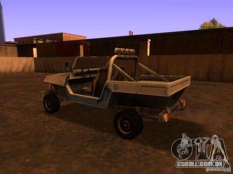 Carrinha pickup de T3 para GTA San Andreas vista direita