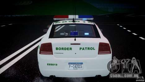 Dodge Charger US Border Patrol CHGR-V2.1M [ELS] para GTA 4