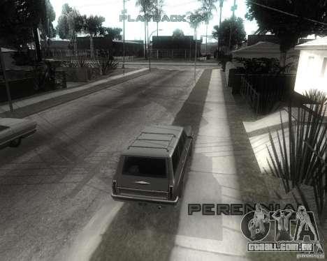GTA SA - Black and White para GTA San Andreas por diante tela