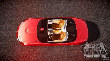 Mazda Miata MX5 Superlight 2009 para GTA 4 vista direita