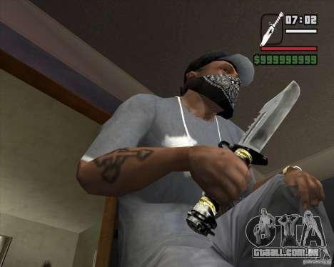 A faca do stalker # 2 para GTA San Andreas