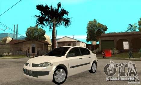 Renault Megane II Sedan para GTA San Andreas