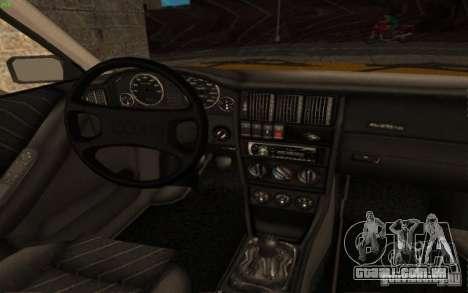 Audi 90 Quattro 20V para GTA San Andreas vista direita