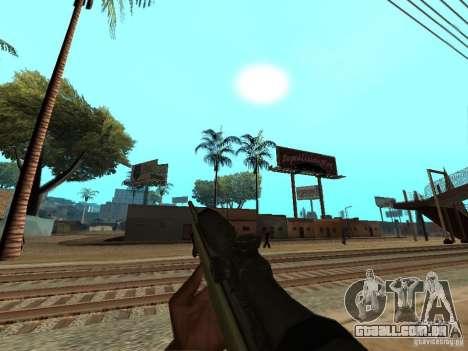M40A3 para GTA San Andreas segunda tela