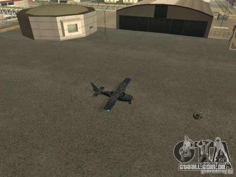 Um novo avião-Dodo para GTA San Andreas vista traseira