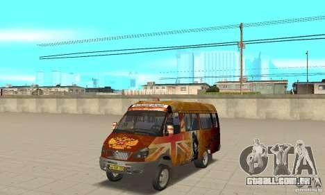 Gazela kulnev obezbašennaâ para GTA San Andreas